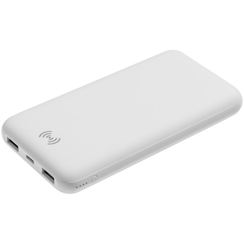 Aккумулятор Uniscend Quick Charge Wireless 10000 мАч, белый